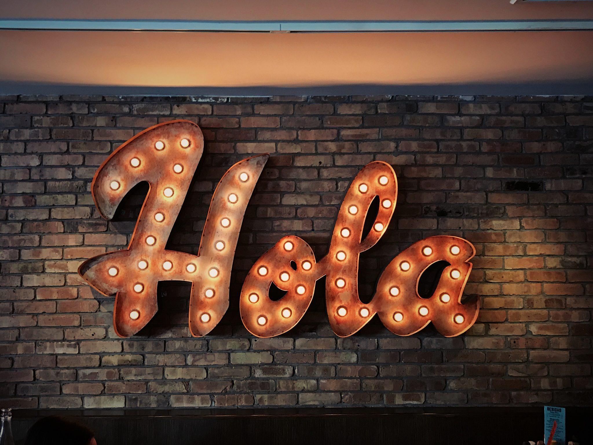 How do you say hello?